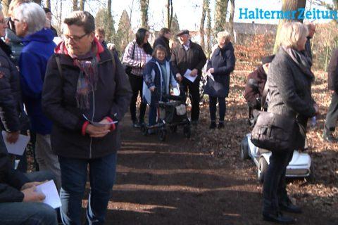 Bestattungswald Ruhestätte Natur in Sythen eröffnet