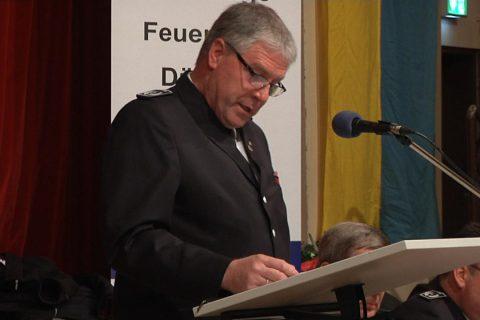 Generalversammlung der Feuerwehr Dülmen