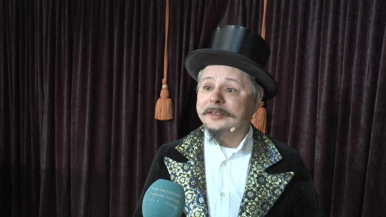 Musiktheater Herr Alexander für Halterner Grundschulkinder
