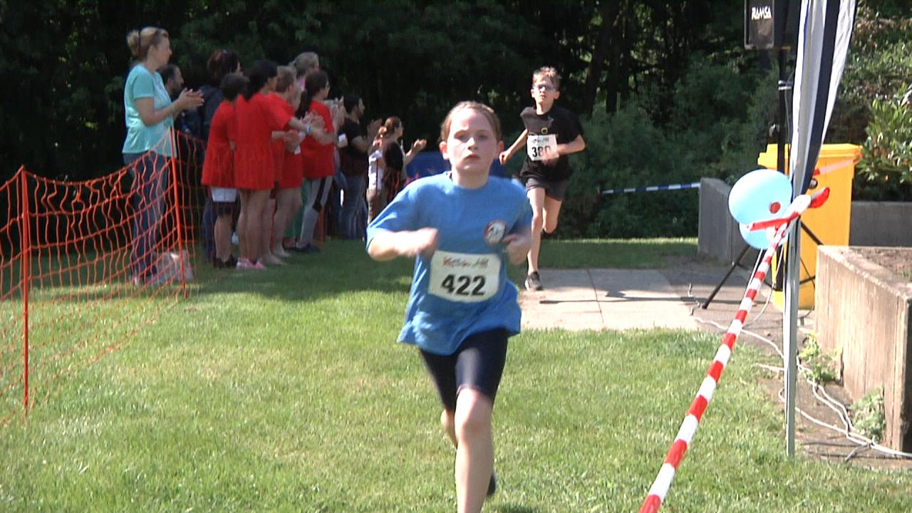 Schul- Thriathlon am Aquarell 2019