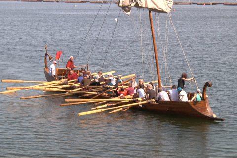 Römerschiff Victoria auf dem Halterner Stausee 2019