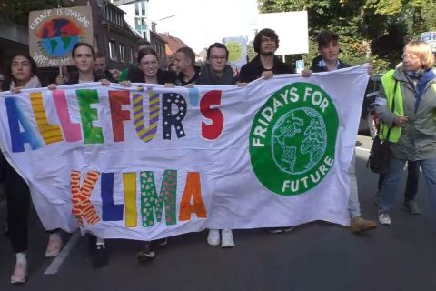 "Demoaktion ""Fridays for Future"" in Dülmen"