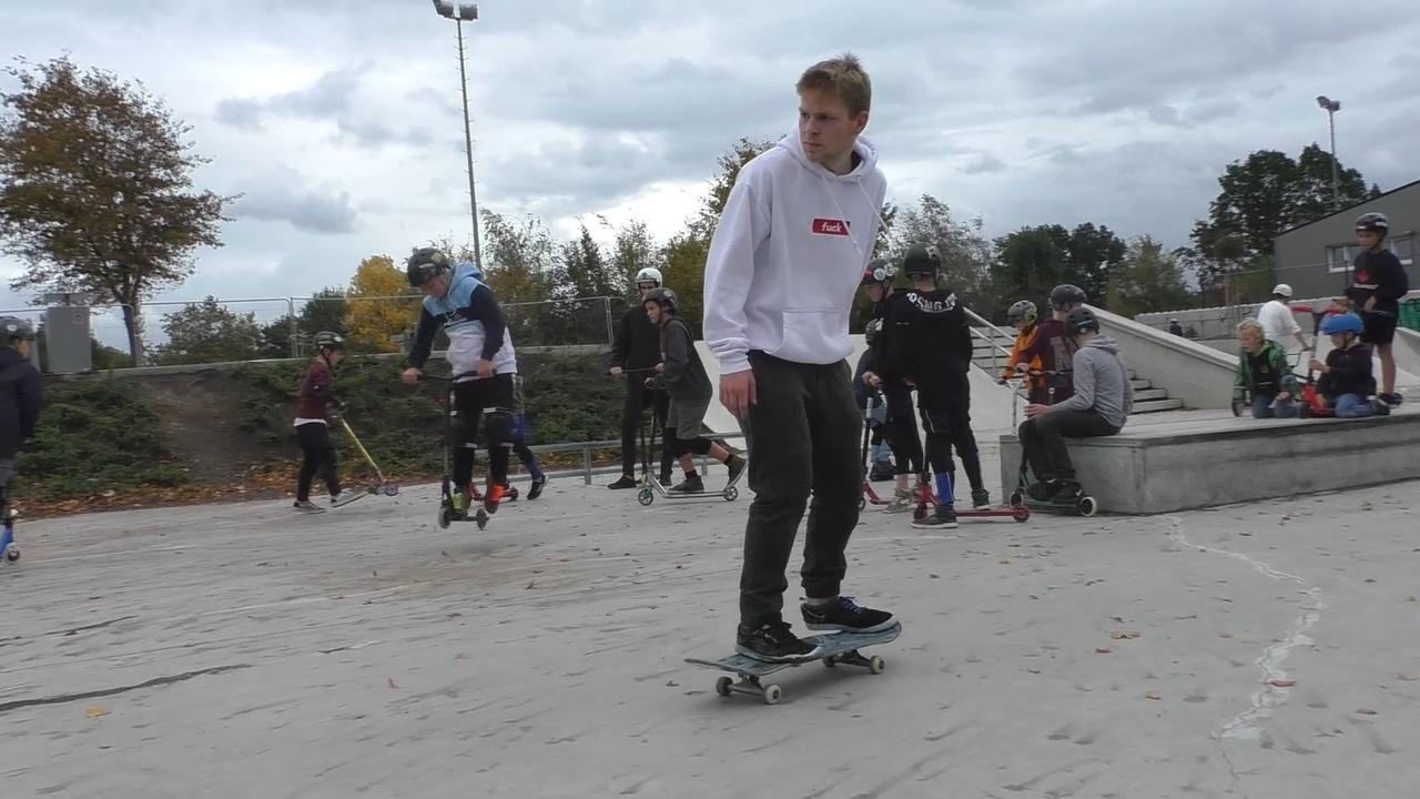 Jugendkulturfestival an der Skateranlage in Dülmen