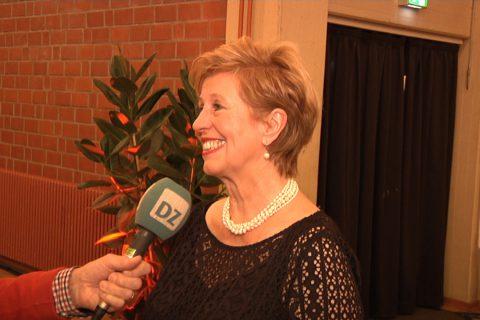 Interview Lisa Stremlau beim Neujahrsempfang in Dülmen