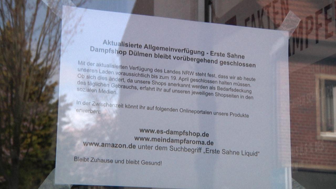 Corona Pandemie – Auswirkungen in Dülmen