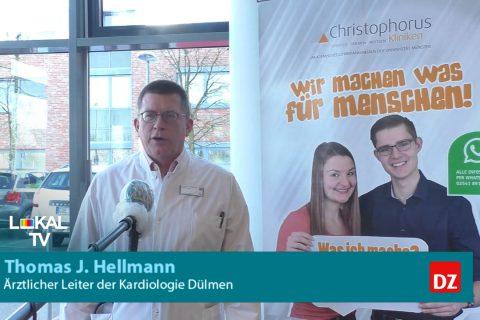 Dülmener Krankenhaus rüstet sich für Corona