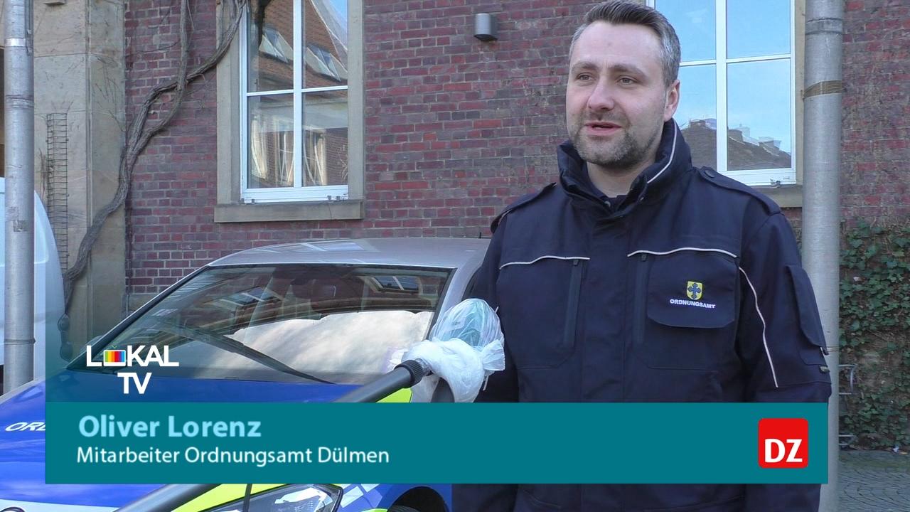 Ordnungsamt Dülmen – Kontrollgang durch die Stadt