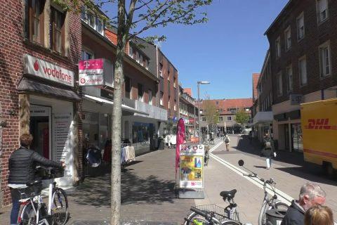 In Dülmen machen kleine und mittlere Läden wieder auf.