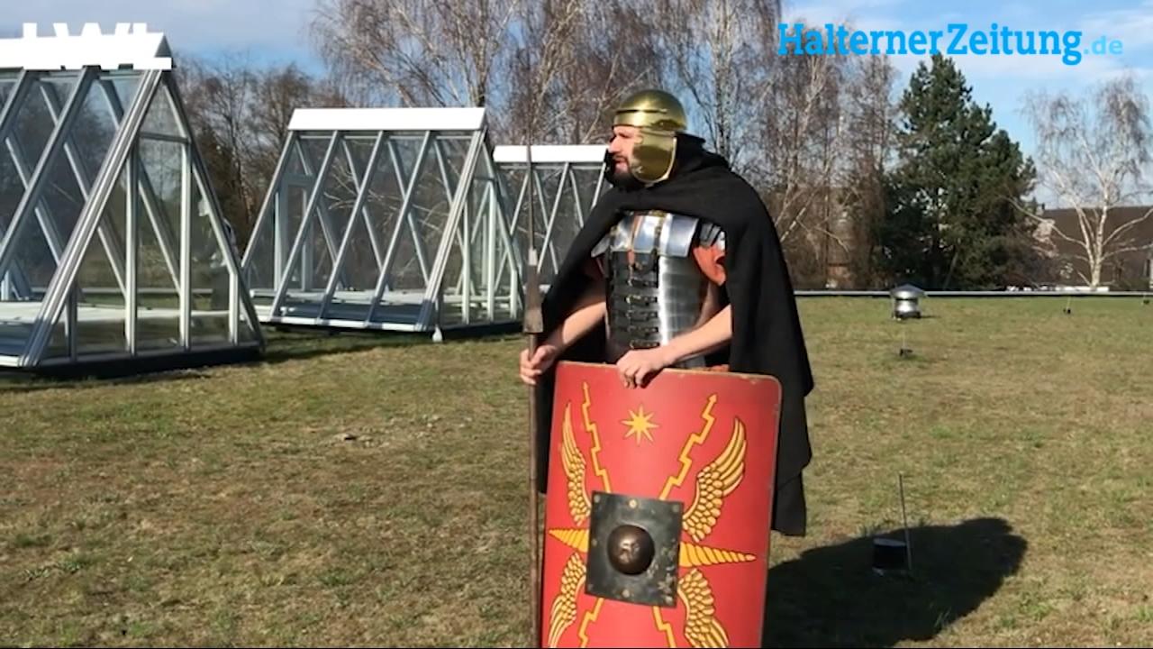 Römer allein zu Haus