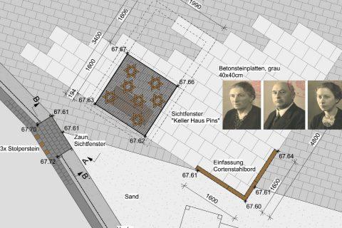 Archäologisches Bodenfenster am einsA in Dülmen vorgestellt