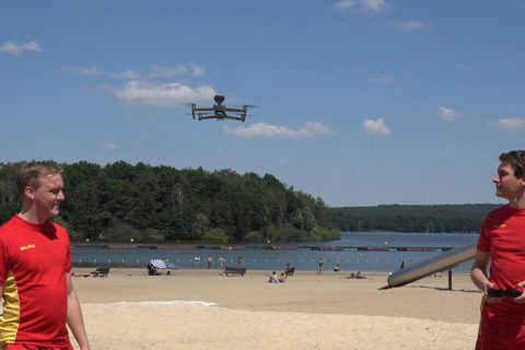 Drohnen bei der DLRG Haltern vorgestellt