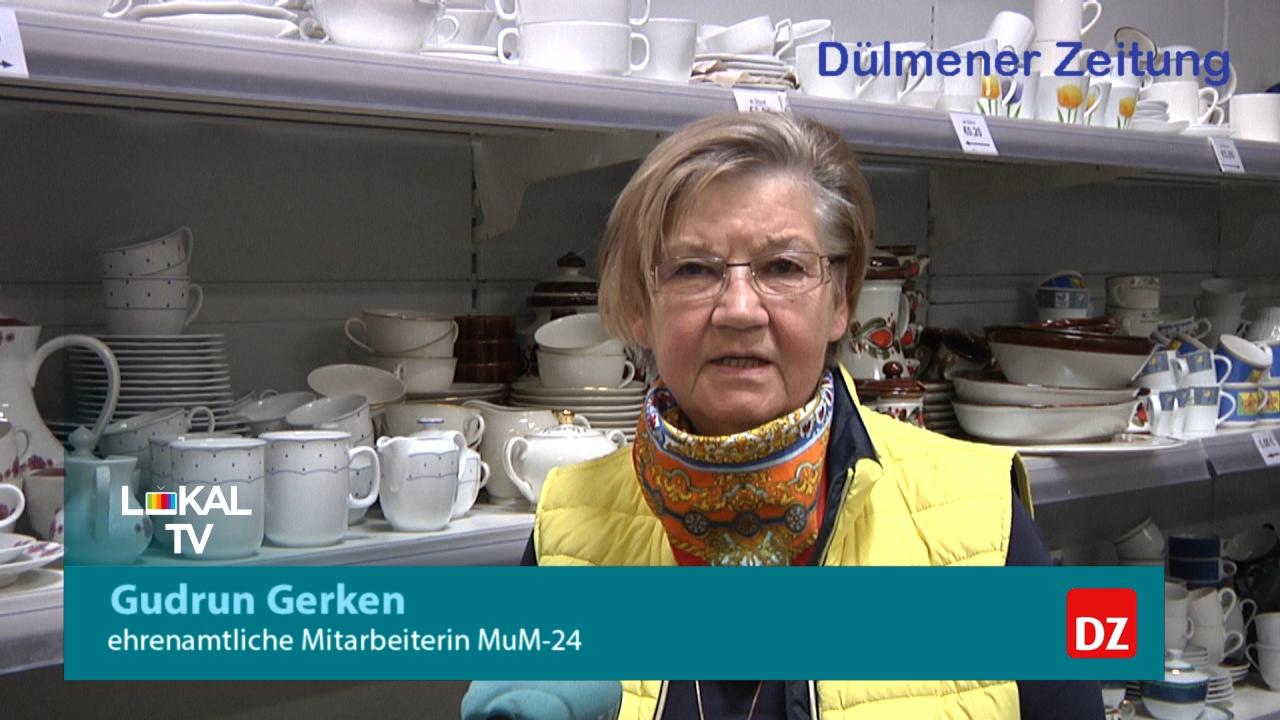 Das Sozialkaufhaus MuM-24 hat wieder geöffnet