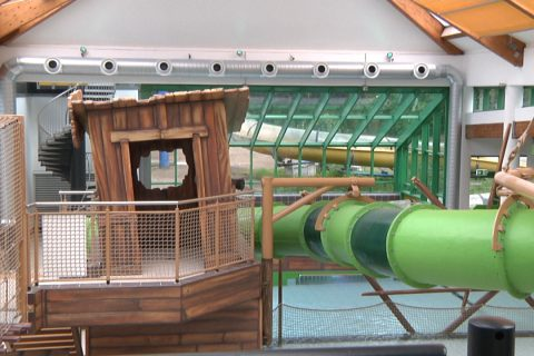 Freizeitbad düb eröffnet in Dülmen