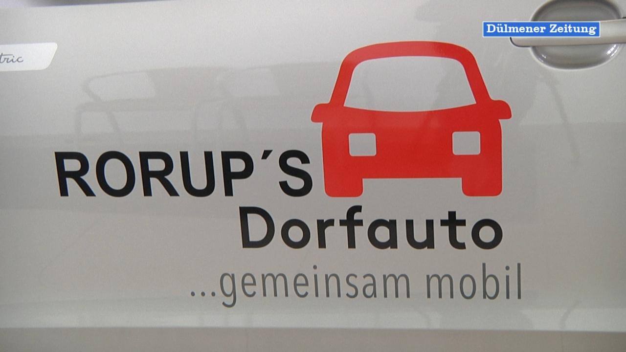 Neues Dorfauto in Rorup vorgestellt