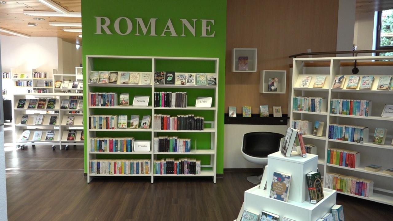 Stadtbücherei öffnet mit neuer Ausstattung