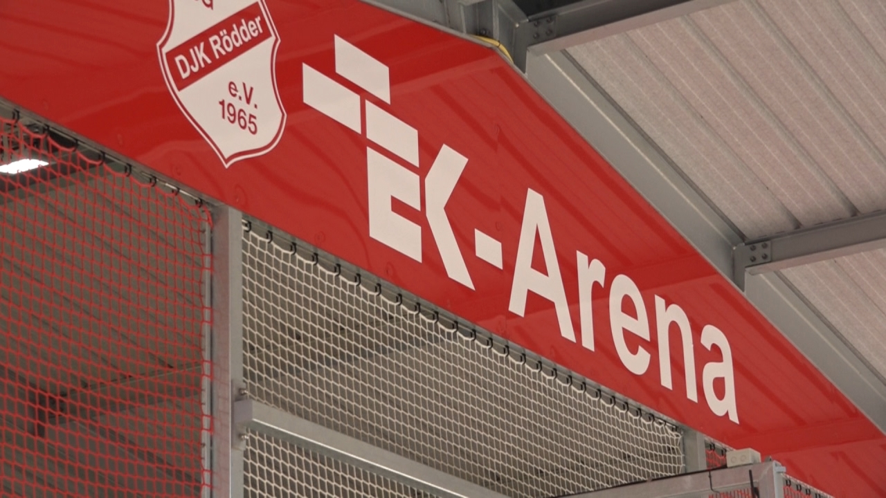 EK Arena in Rödder eingeweiht