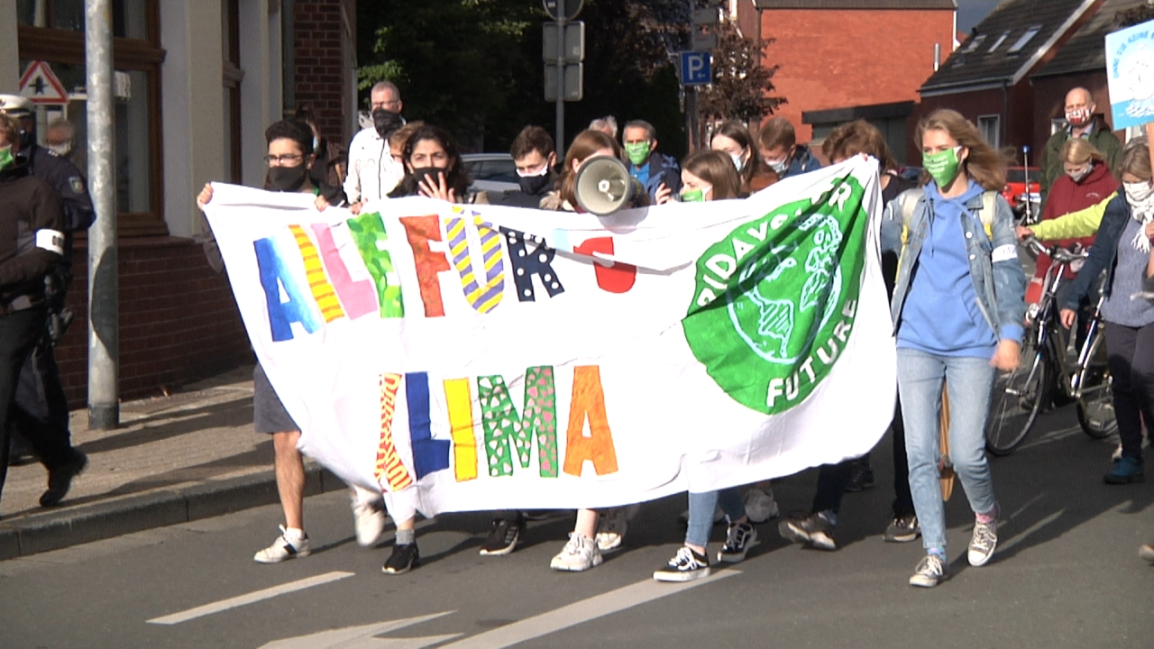 Fridays for Future Demo in Dülmen