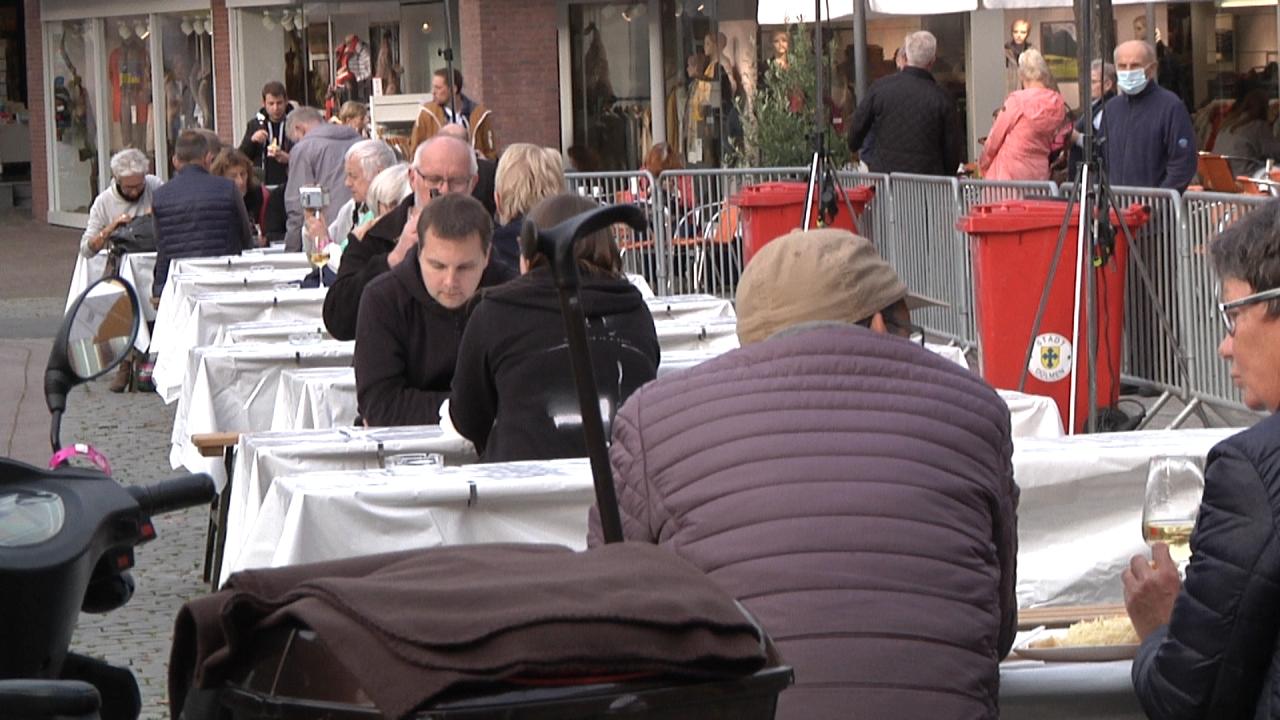 1. Abendmarkt nach dem Corona Shutdown in Dülmen