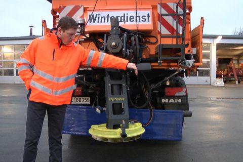 Winterdienst am Baubetriebshof Dülmen