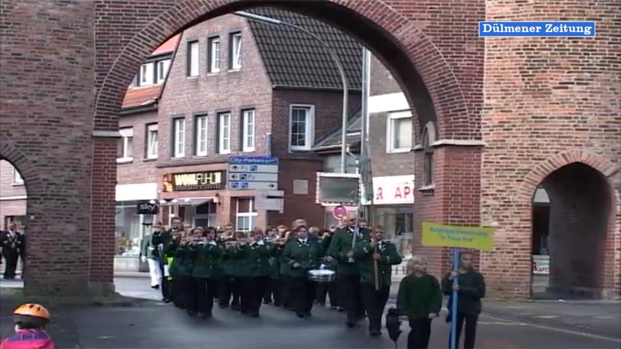 Kaiserschiessen zum Stadtjubiläum 700 Jahre Stadt Dülmen 2011