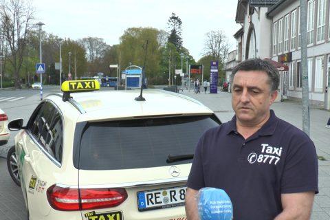 Ausgangssperre – Einnahmeverluste  für Taxifahrer